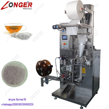 Commercial Full Automatic Coffee Powder Pod Packer Small Round Filter Bag Vertical Packaging Machine Herbal Tea Packing Machine