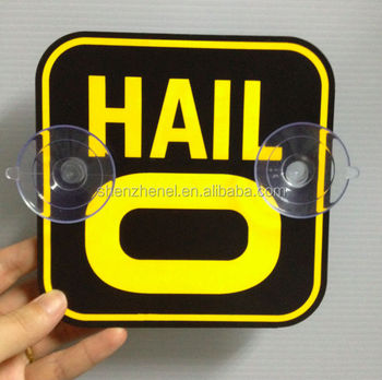 Hail car sticker/New hot product Vivid electroluminescence display for car stickers