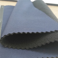 87%polyester 13%spandex 4 way stretch fabric bonded polar fleece for sportswear,garment,clothing,trousers