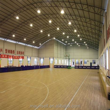 Basketball court sports pvc flooring with uv coating