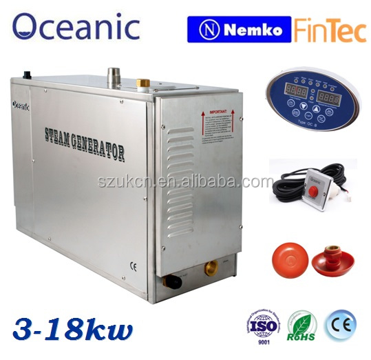 Factory price stainless steel steam generator, 2 year warranty