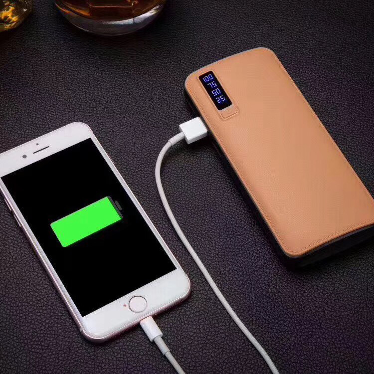 2018 new arrived 3 usb power bank 10000mAh portable power bank