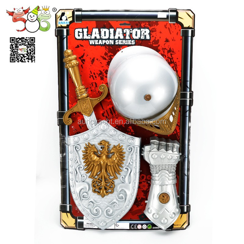 Plastic Crusader Medieval Sword and Shield