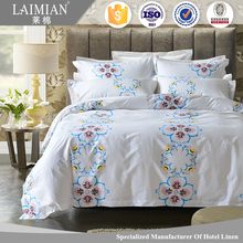 printed bed sheet fabric turkey 100% cotton hotel linen