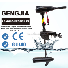 GengJia 12VDC 60lbs Thrust Bow-mount Trolling Motor 1 HP for Inflatable Boat