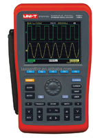 2channel 1GS/s 200MHZ Handheld/Portable Digital Storage Oscilloscope(dso) UTD1202C with USB