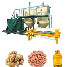 Home use small size edible groundnut coconut sunflower mustard oil refining machine/oil making machine