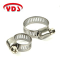 Mini stainless steel clamp gas water heater pipe hose clamp