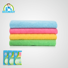 SUPER SOFT HOUSEHOLD CLEANING MULTIPLE USAGE MICROFIBER CLOTH FOR CLEANING, 4 COLORS