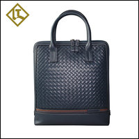 Online beauty new coming mens leather messenger laptop bag