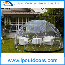 White Cover Luxury Half Sphere Tent Circus Tent For Hotel Party Marquee