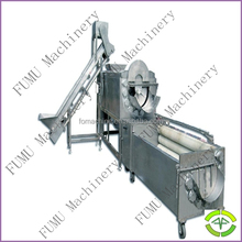 whole stainless steel industrial potato peeling machine