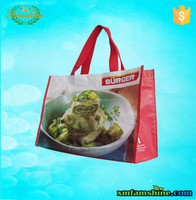 wholesale laminated recycled pet shopping bag