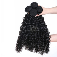 Weaves bundles peruvian and brazilian human hair kinky afro hairpieces