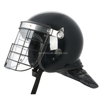 full face police riot double visor flip up helmet