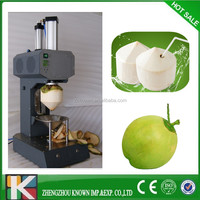 young coconut peeler machine for sale /coconut trimming machine/coconut peel removing machine