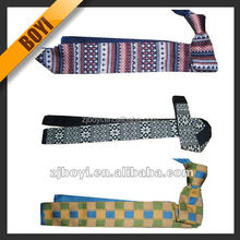 Colorful Checked & Striped Knitted Neckties For Man