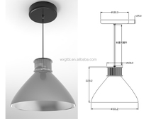 contemporary hanging pendant light for cafe, restaurant, fruit store(JS-S-Z-30W-4KK)