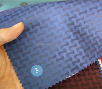 wallet inner lining used fabric in 100%polyester jacquard woven fabric