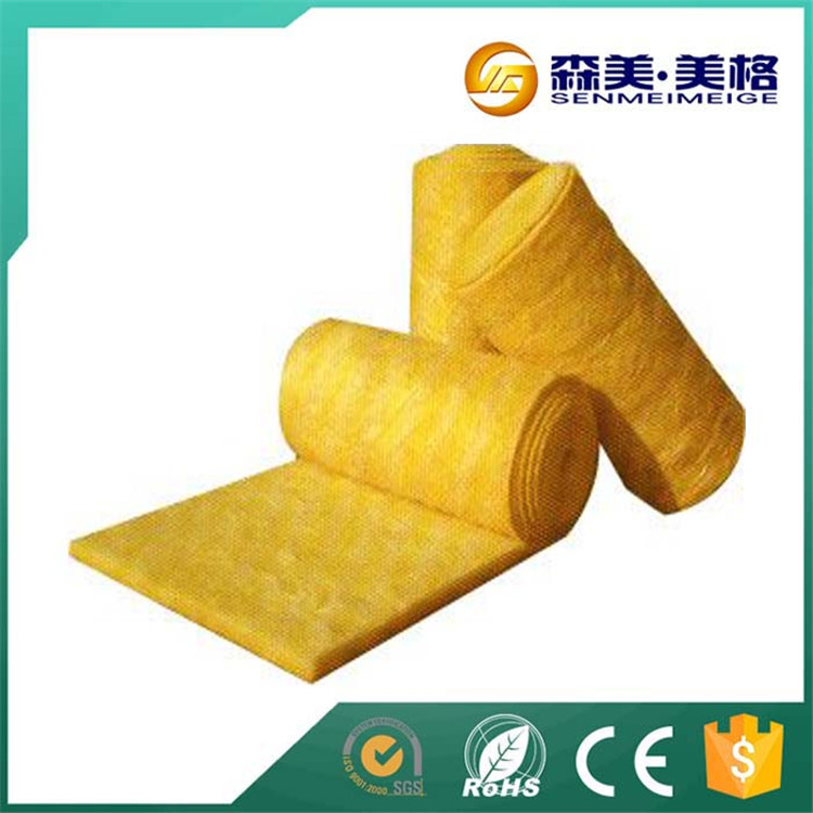Sound proof loose glass wool heat preservation glass wool roofing material