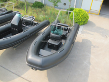 RIB 470 New Popular fiberglass rowing boat