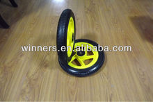 High quality High Performance Strong 12 Inch String Trimmers PU Foam Wheel