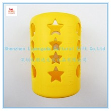 Wholesale custom silicone sleeve for thermos, silicone band for thermos, silicone sleeve for ceramic cup