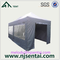 2015 Popular Gazebo Size for 4x6 folding walkway/aluminum alloy motorcycle fairings/windproof tent