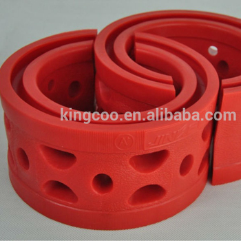 jinke car parts red cushion spring rubber car damping rubber shock