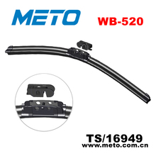 Frameless Flexible Rubber Windshield Wiper Blade with Universal Adapter