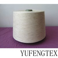 Polyester/Flax 65/35 ring spun yarn