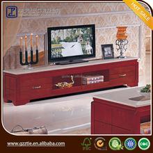 European style wooden tv cabinet, living room simple TV stand wooden furniture