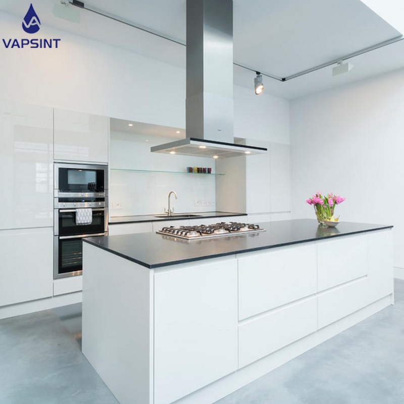 Project use Hight quality New Model commercial Joinery Luxury Kitchen <strong>Cabinet</strong> with island