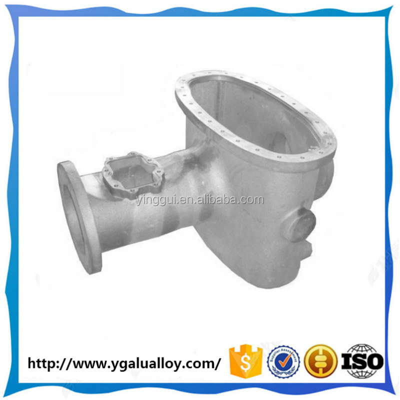 High Precision Machining aluminium die casting part