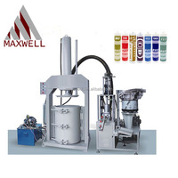 China Semi Automatic silicone sealant cartridge filling machine