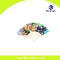 2014 Industry manufacture eco-friendly decorative large hand fans