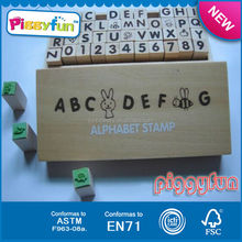 Educational Toy Children's Wood Custom Stamp AT11745