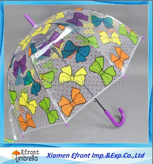 automatic transparent kid umbrella
