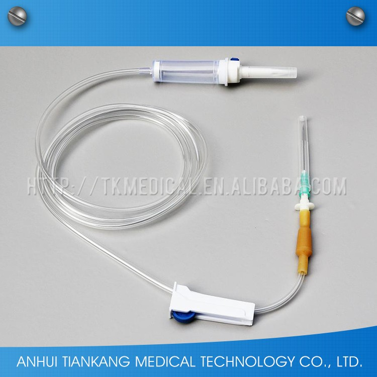 medical technology blood iv set with ce iso certificate