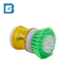 Amazon sale kitchen mini tool pot dish bowl palm scrubber soap liquid dispensing <strong>brush</strong>