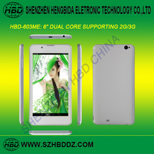 Big Size Screen Phone MTK8312 Dual Core Android 4.2 6 Inch Android Phone