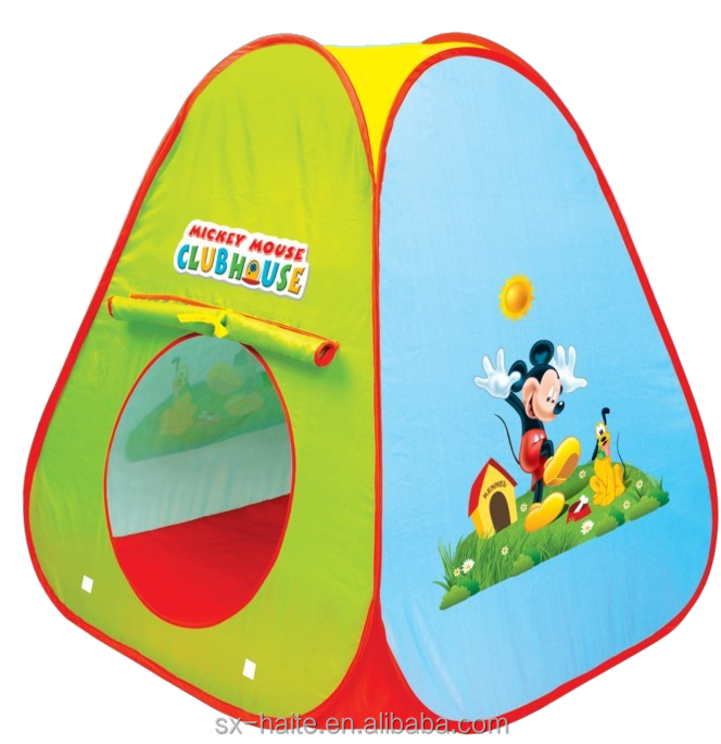 Pop up Mickey Mouse kid play tent child play tent  sc 1 st  Shaoxing City Hite Leisure Products Co. Ltd. - Alibaba & Pop up Mickey Mouse kid play tent child play tent View kids play ...