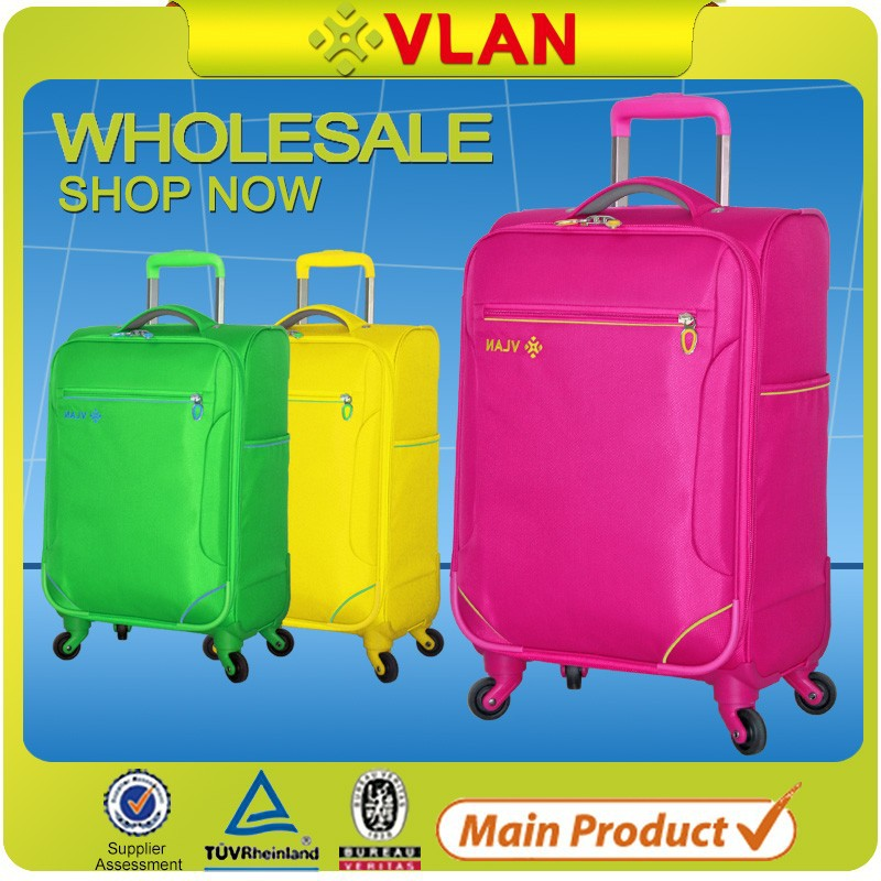 cheap custom made brand urban fabric luggage factory bass 32 inch trolley suitcase luggage
