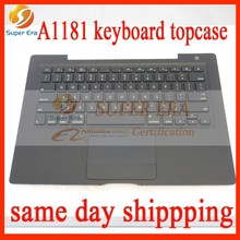 "98% perfect NEW Black Top Case with US USA Keyboard Trackpad for MacBook 13"" A1181"