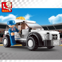 Sluban building blocks of Formula 1 Safety Car for boys toys, kids toys, children toys