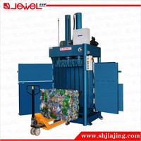CE Approved Hydraulic waste recycle machine for beverage bottle