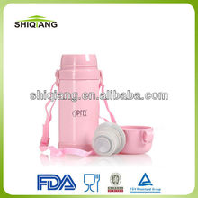 500ml double wall stainless steel vacuum Children Named Water Bottles With Strap