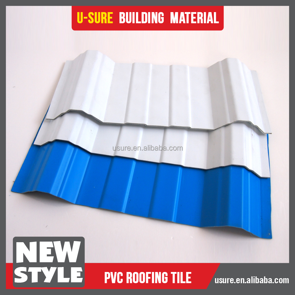 4 layers asa roofing tile/upvc roofing sheet/pvc roofing for transportation infrastructure