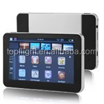 "5"" touch screen 256M/8GB fm free map toyota rav4 gps car tracker"