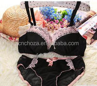 Z52562A push up one piece underwear women bra and panty set